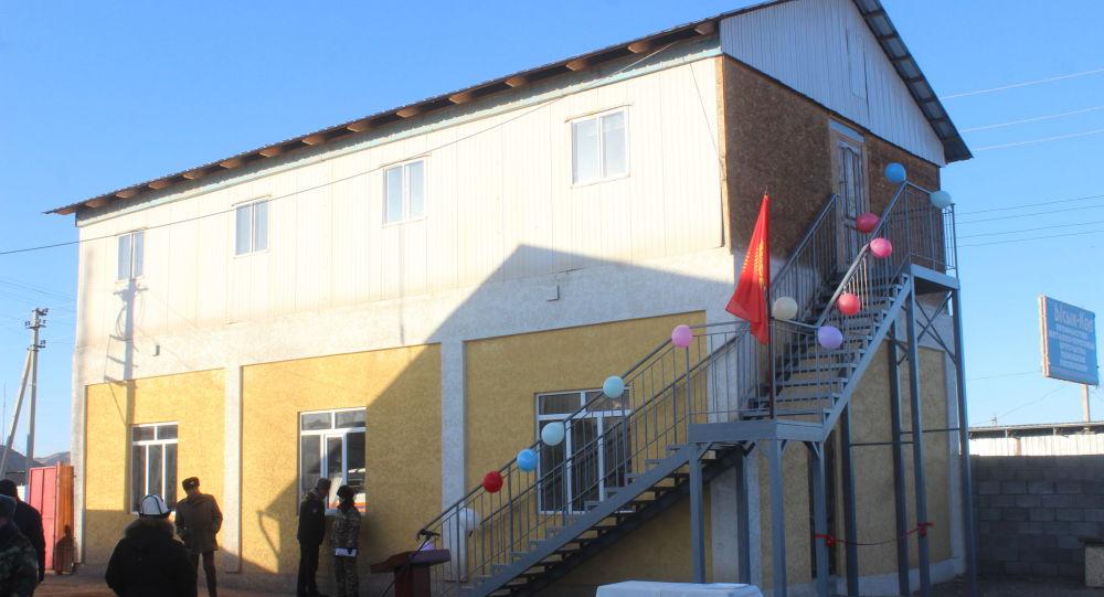 Ысык-Көл облусунун Тоң районунда №38 өрттөн куткаруу бөлүгүнүн жаңы имараты ишке берилгенин ӨКМдин маалымат кызматы билдирди