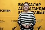 Улуттук кызыл жарым ай коомунун координатору Салтанат Абдыжапарова