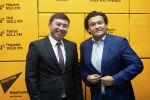 Советник премьер-министра Кубат Рахимов и руководитель управления государственным долгом при Министерстве финансов Руслан Татиков