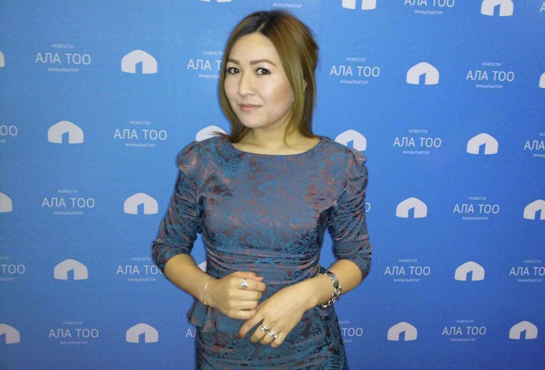 Журналист Жайнагул Тазабекова, работавшая в КТРК