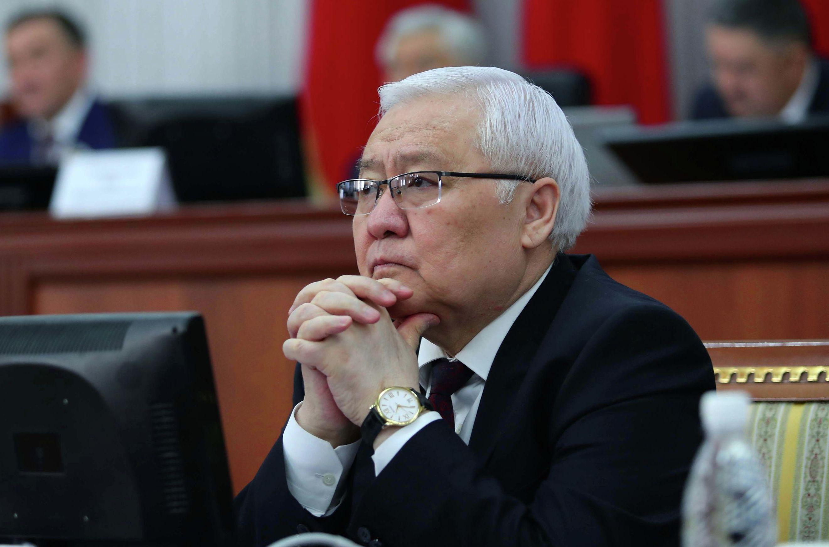 Постоянный представитель Правительства в Жогорку Кенеше Ашырбек Темирбаев