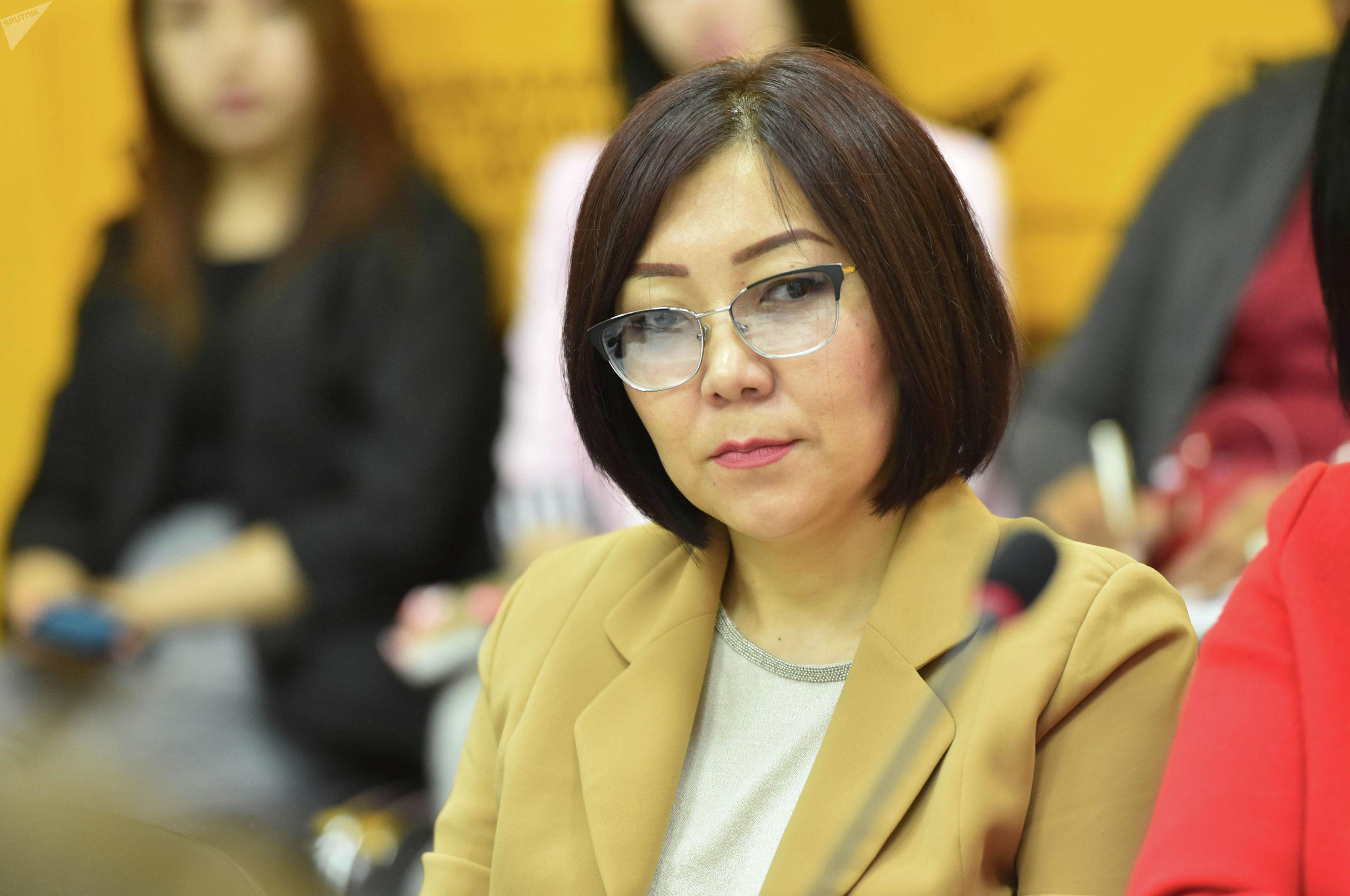 Координатор института Булан Чынара Токонова