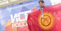 Капитан клуба по историческому средневековому бою, первый международный судья в Кыргызстане в этом направлении Богдан Сбитнев