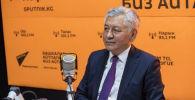 КСДПнын лидери Иса Өмүркулов