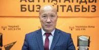 Саламаттыкты сактоо министринин орун басары Мадамин Каратаев