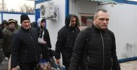 Украина кой берген туткундар. Архивдик сүрөт