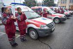 Мэрия Бишкека закупила и передала восемь специальных автомобилей для Станции скорой медицинской помощи и Городской детской молочной кухни