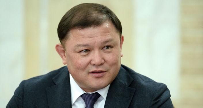 Торага Жогорку Кенеша Дастан Джумабеков на встрече с президентом КР Сооронбаем Жээнбековым