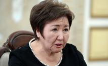Председатель Верховного суда Гульбара Калиева. Архивное фото