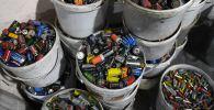 Участок переработки батареек и аккмуляторов. Архивное фото