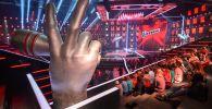 Зрители на репетиции четвертьфинала шоу Голос в Москве. Архивное фото