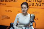 Кыргызгидрометтин метеорологиялык болжолдоолор бөлүмүнүн жетектөөчү адиси Асылбүбү Маткеримова