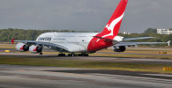 Qantas авиакомпаниясынын учагы. Архив