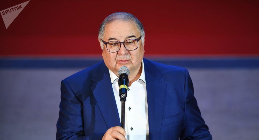Бизнесмен Алишер Усманов. Архив