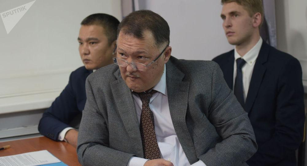 Алматыда учагы кыйраган Bek Air авиакомпаниясынын башчысы Нурлан Жумасултанов. Архивдик сүрөт