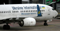 Самолет Boeing 737-800, принадлежащий международной авиакомпании Украина. Архивное фото