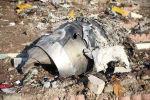 Обломки самолета, принадлежащего Международным авиакомпаниям Украины, который разбился после взлета из иранского аэропорта Имама Хомейни на окраине Тегерана. Архивное фото