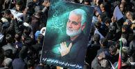 Церемония прощания с убитым генералом Сулеймани в Иране. Архивное фото