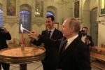 Во вторник вечером президент РФ Владимир Путин, прежде чем вылететь в Турцию, отправился в Сирию. Примечательно, что визит не был запланирован.