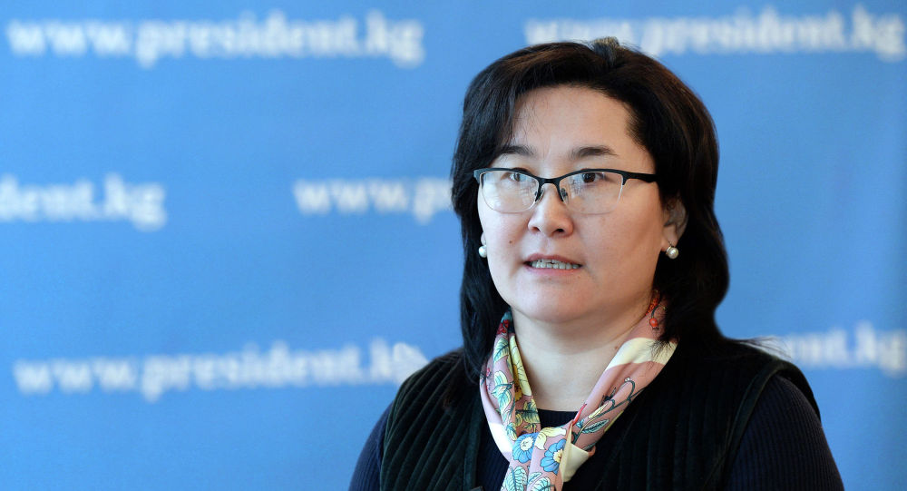 Пресс-секретарь президента Кыргызстана Толгонай Стамалиева