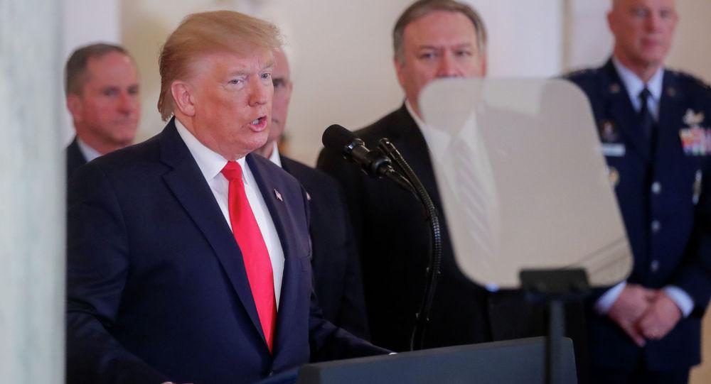АКШ президенти Дональд Трамптын элге кайрылуусу
