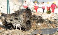 На месте крушения пассажирского лайнера Украины Boeing 737-800