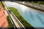Ак-Буура дарыясынын жээгин жашылдандыруу, көрктөндүрүү, жер тилкелерин эскизи