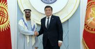Президент Кыргызской Республики Сооронбай Жээнбеков встретился с делегацией Объединенных Арабских Эмиратов (ОАЭ) во главе с министром образования Хуссейном бин Ибрагим Аль Хаммади.