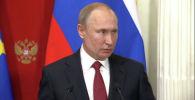 Президент России Владимир Путин на пресс-конференции по итогам встречи с канцлером Германии Ангелой Меркель прокомментировал ситуацию на Ближнем Востоке.