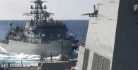 Военные корабли России и США в Аравийском море. Архивное фото