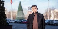 Преподаватель журналистики в Бишкекском гуманитарном университете Айболот Айдосов