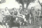 860-полктун офицери, афган согушунун ардагери, отставкадагы полковник, СССРдин Аскердик күжүрмөндүк жана экинчи даражадагы Аскердик кызматта каармандыгы үчүн медалдардын ээси Таалайбек Садыров