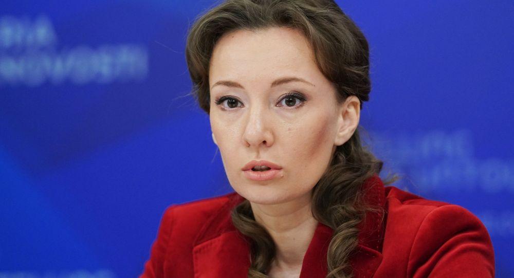 Россиянын балдар акыйкатчысы Анна Кузнецова. Архив