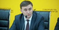Бишкек автоунаа токтотуучу жайлары муниципалдык ишканасынын директору Ислам Момоконов. Архив