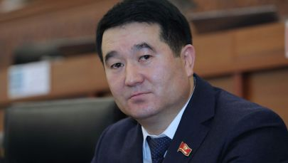 Депутат ЖК Нурбек Сыдыгалиев. Архивное фото