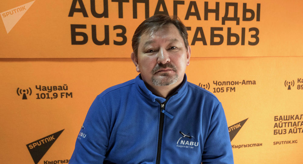 NABU-Кыргызстан уюмунун жетекчиси Толкунбек Асыкулов