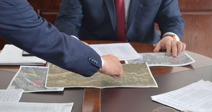 Топографическая рабочая группа Кыргызстана приступила к проработке вопросов о взаимообмене участками с Таджикистаном