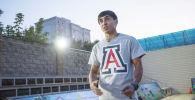 Капитан сборной Кыргызстана по баскетболу 3X3 Шакиржан Куранбаев