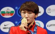 Спортсменка из Кыргызстана Айсулуу Тыныбекова. Архивное фото
