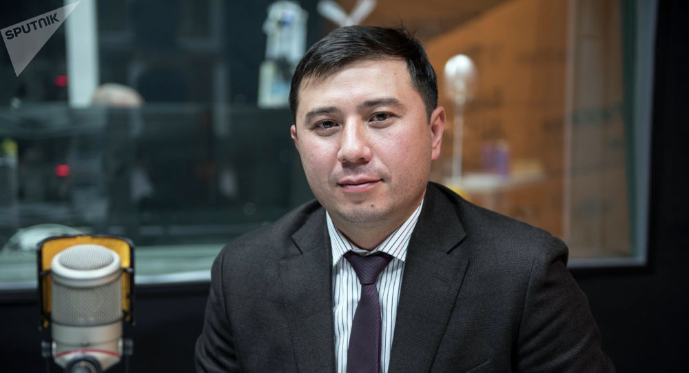 Финансы министрлигинин мамлекеттик карыздар башкармалыгынын башчысы Руслан Татиков