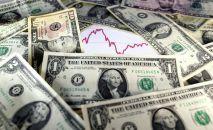 Долларовые банкноты США. Архивное фото
