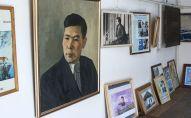 Акын Алыкул Осмоновдун үй музейи. Архив