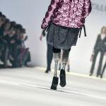 Итальянская модель и паралимпийская чемпионка Джузи Версаче на Берлинской неделе моды