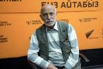 Единственный фотохудожник в кыргызстанском кино Александр Федоров во время беседы на радио