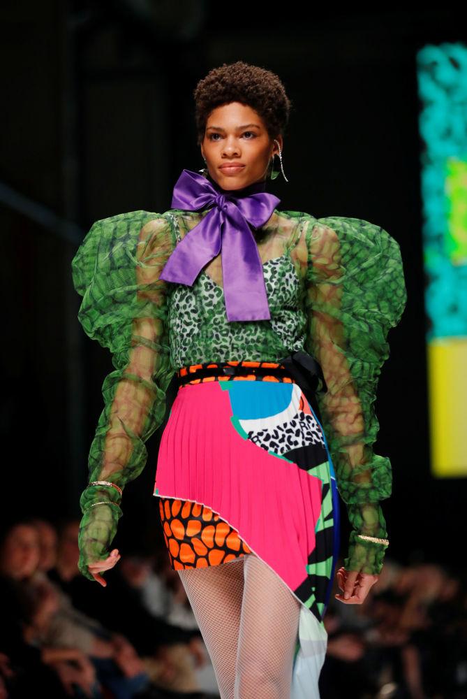 Это наряд от одного из южноамериканских дизайнеров