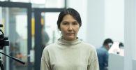 Бишкек шаарынын мэриясынын аппаратынын жергиликтүү өз алдынча башкарууну өнүктүрүү бөлүмүнүн башкы адиси Назгүл Озокеева