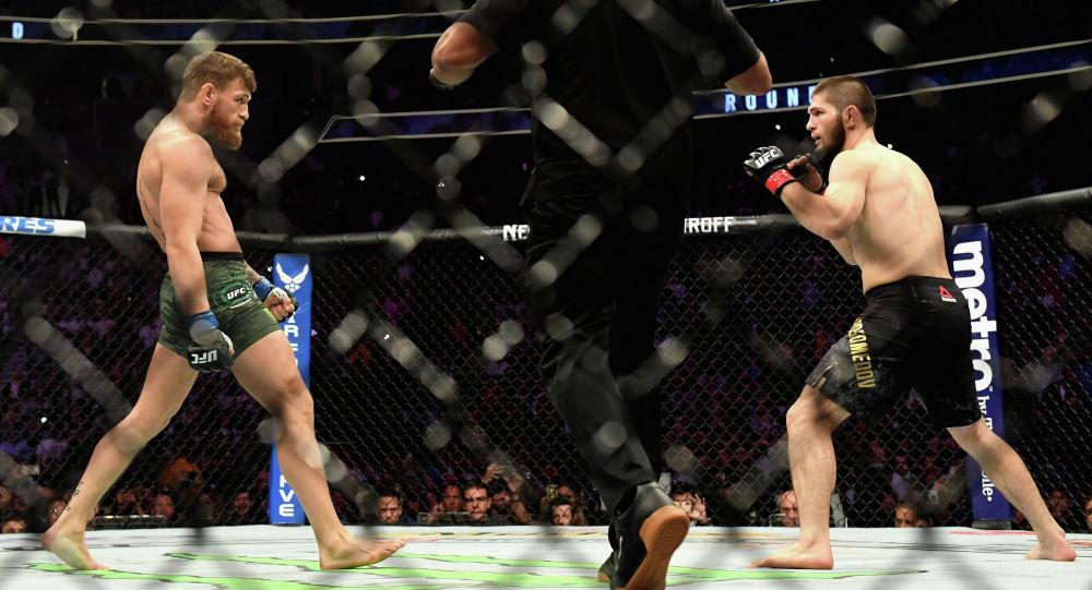 UFC уюмунун жеңил салмактагы чемпиону Хабиб Нурмагомедов жана ирландиялык Конор Макгрегордун беттеши
