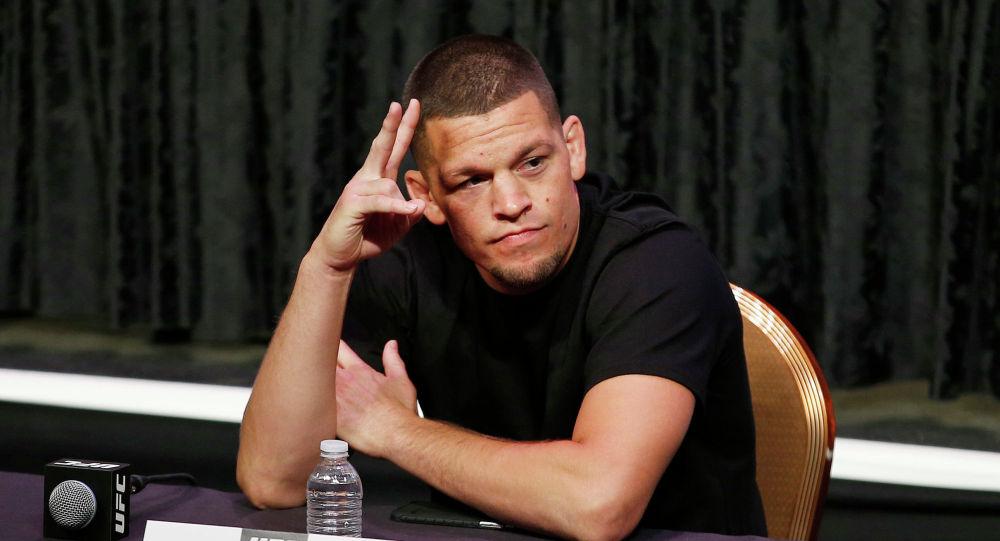 Известный американский боец UFC Нэйт Диас. Архивное фото