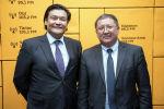 Советник премьер-министра Кубат Рахимов и заместитель председателя ГКПЭН Карыбек Ибраев на радио Sputnik Кыргызстан