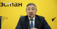Бишкек шаарынын мэринин экономика жана финансы саясаты боюнча биринчи орун басары Алмаз Бакетаев
